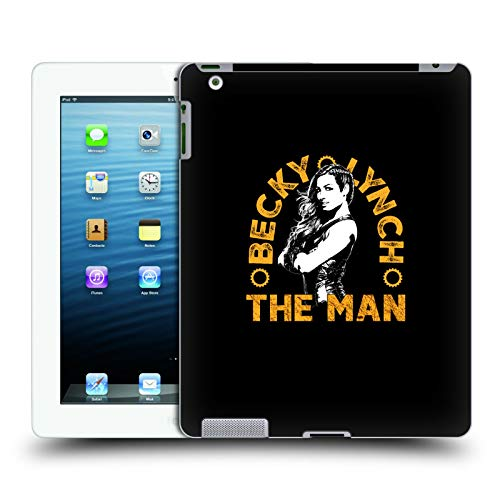 Head Case Designs Offizielle WWE Bild 2 Becky Lynch The Man Harte Rueckseiten Huelle kompatibel mit iPad 3 / iPad 4 (3 Hulk Ipad Case)