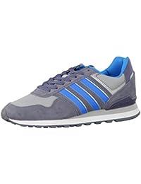 Adidas Cacity, Zapatillas de Gimnasia para Hombre, Gris (Grpudg/Cartra/Negbas Grpudg/Cartra/Negbas), 39 EU