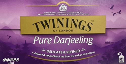 Twinings Pure Darjeeling 50g, 25 Beutel, 1er Pack (1 x 50 g)