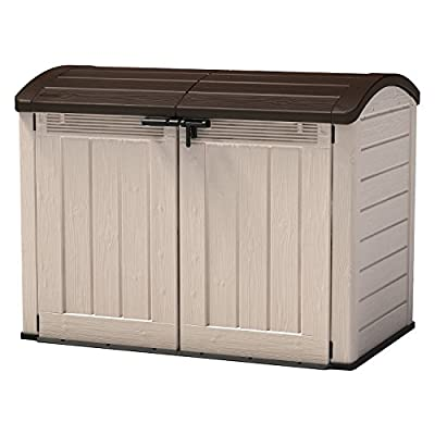 Keter Store-It-Out Ultra Trash Can Shed - cheap UK light shop.