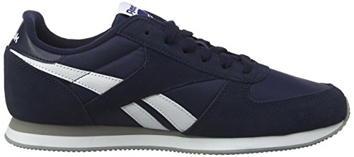 Reebok Classic Jogger, Baskets Basses Homme Bleu (collegiate Navy/white/mgh Solid Grey)