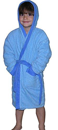 Ti-Tin -  Accappatoio  - ragazzo blu 8 anni