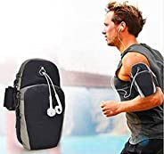 GIRIK® Armband for Running Water Resistant Washable Mobile Holder Arm Band for Fitness Gym Outdoor Sports, Arm