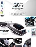 Ceuta Retails X5 Bluetooth Car Kit MP3 Multimedia Player Wireless Bluetooth FM Transmitter