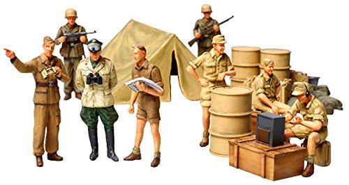 Tamiya 300032561 set fanteria tedesca, africa corps, 1:48