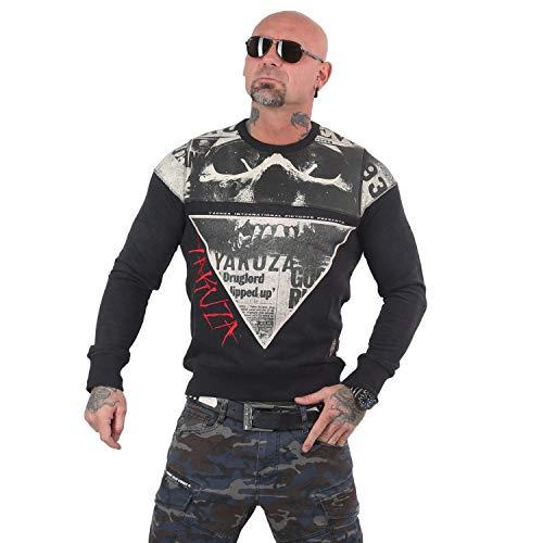 Yakuza Herren Death by 893 Pullover Sweater
