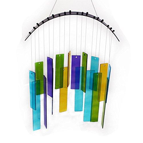 Gall&Zick Windspiel aus Glas Suncatcher mobilefür drinnen und draussen klangspiel