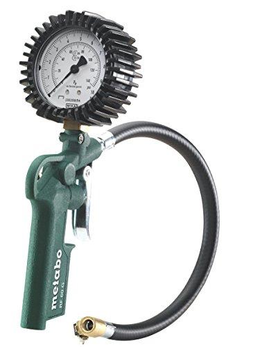 Metabo 6.02234.00 - Manometro per pneumatici, RF 60 G