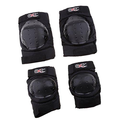 Safe Max/® Protecteur du Genou Moto Genouill/ère Level 2 2.0 type A Multipurpose ensemble de 2 toute lann/ée Unisexe