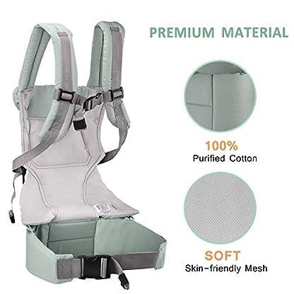 41PiMaF0FoL. SS416  - Hommie Cambiador Portatil Plegable para Bebe Impermeable Cambiar de Pañales o Ropa al Bebé y 4 Pcs Ganchos Carrito Bebé, Apoyo hasta 20KG para Bolsas de la Compra