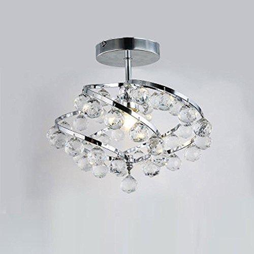 moderne-simple-plafonnier-unique-cristal-abat-jour-restaurant-salon-couloir-lampe