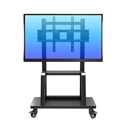 Höhe Einstellbar Tv-wagen (Stehende Mobile Fernsehständer, Geeignet für 55