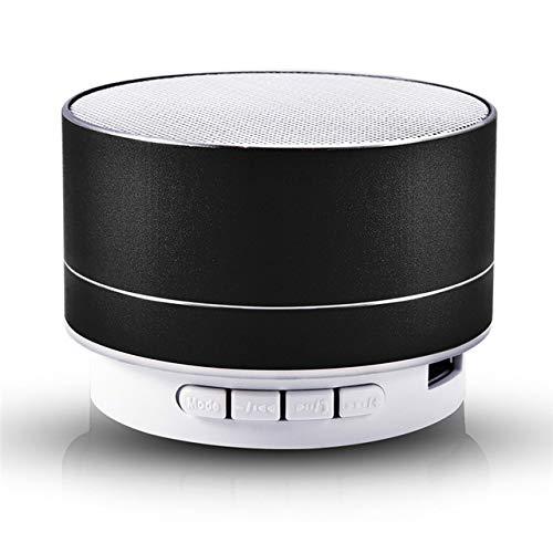 Lautsprecher super bass Bluetooth Lautsprecher Stereo Musik subwoofer tragbare led Lautsprecher freisprecheinrichtung fm tf Karte Linie in-in schwarz - Stereo Clarion Bluetooth