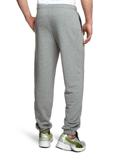 Puma, Pantaloni Uomo ESS Sweat Pantaloni Terry Closed Grigio (medium gray heather)