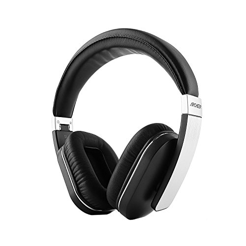 Bluetooth Headphones, Archeer Bluetooth 4.0 Wireless Earpiece, Foldable Stereo Headphones , Noise Reduction Hands-free Voice Calling AptX Headset, Up To 14 Hours Play Time for iPhone, Samsung and More
