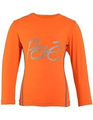 Pere Performance - Camiseta de manga larga (para 7-8 años), color naranja