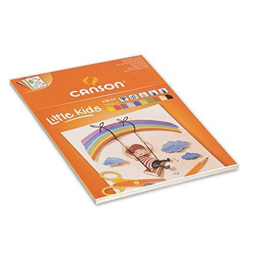 Canson Little KidsColour Creation - Bloc de cartulina de colores