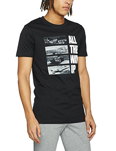 Mister Tee Uomo Maglieria / T-shirt All The Way Up Stairway Nero