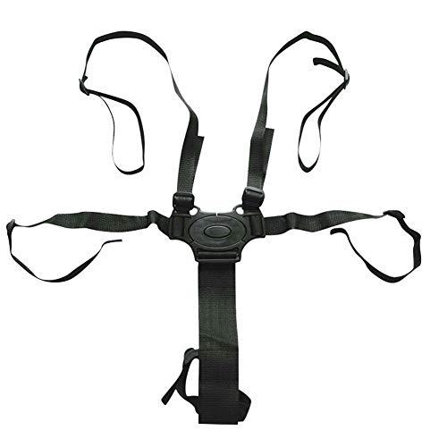 SADA72 Baby Sicherheitsgurt, Verstellbarer Sicherheitsgurt Universal 5-Punkt Baby Gurt mit Schulterpolster für Kinderwagen Hochstuhl Kinderwagen Buggy, Wie abgebildet, 5 Point Baby seat Belt