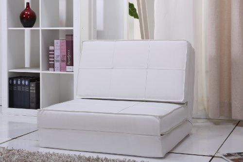 Schlafsessel Gästebett Jugendsessel (weiß, klein)