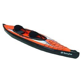 Kayak-Aqua Marina Deluxe Kayak k2-CANOA-GOMMONE 400cm-CAMPEGGIO SPORT