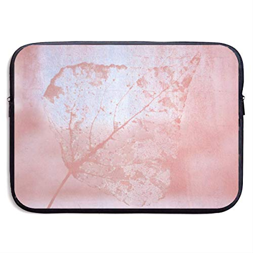 JKOVE Laptoptasche Notebooktasche,Laptop Sleeve Case Protective Bag Printed Leaf Texture Ultrabook Briefcase Sleeve Bags Cover Aktentasche for MacBook Pro/Acer/Asus/Lenovo Dell -