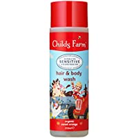 Childs Farm hair & body wash organic sweet orange 250ml