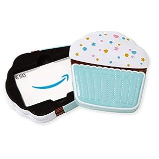 Amazon.de Geschenkkarte in Geschenkbox - 50 EUR (Muffin)