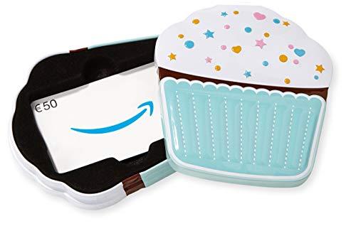 Amazon.de Geschenkkarte in Geschenkbox - 50 EUR (Muffin) (M Gutscheine Und M)