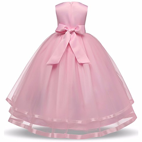 Baby pink dress for wedding