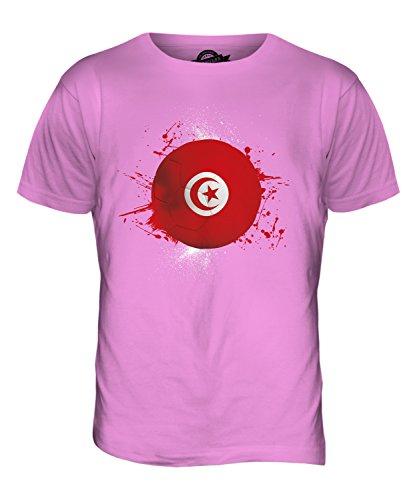 CandyMix Tunesien Fußball Herren T Shirt Rosa