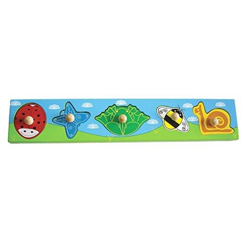 Primi Passi Jardin Puzzle Animaux, PP1053, Multicolore