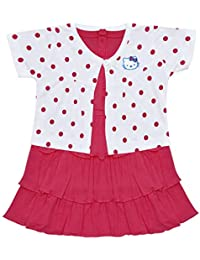 f839fd5c3 Pinks Baby Girls' Dresses & Jumpsuits: Buy Pinks Baby Girls' Dresses ...