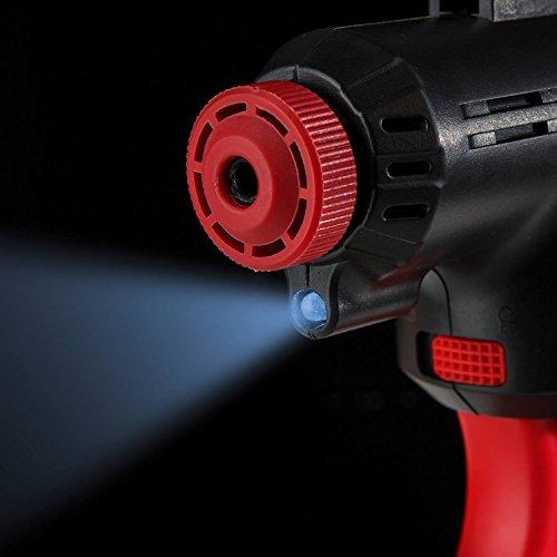 Genius A20001 Air Hawk Pro | 8 Teile Luftkompressor | Elektrische Druck-Luftpumpe | Inkl. Akku und Auto-Adapter | Neu - 4