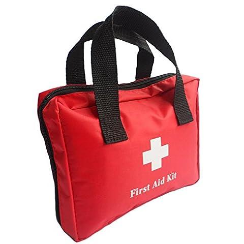 Erste-Hilfe-Kit enthält medizinische Ausrüstung für die tägliche medizinische Versorgung, Notfallmedizin-Paket für Home Office Schule Auto Reisen Camping Wandern