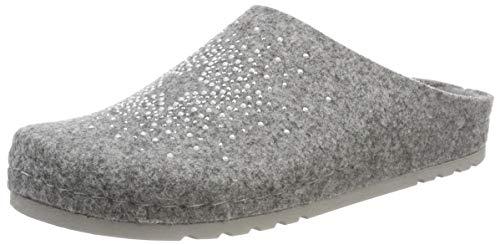 Rohde Damen Riesa Pantoffeln, (Grau 80), 40 EU