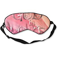 Sleep Eye Mask God is Love Lightweight Soft Blindfold Adjustable Head Strap Eyeshade Travel Eyepatch E10 preisvergleich bei billige-tabletten.eu