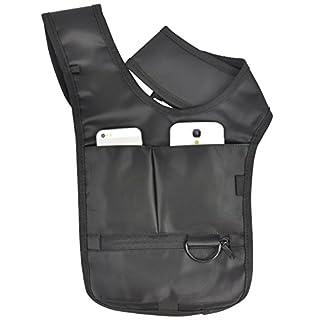 Accessotech Anti-Theft Hidden Underarm Security Shoulder Holster Cross Strap On Bag Wallet