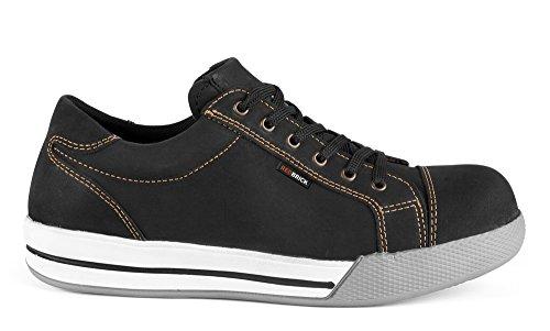 S3 Schwarz Brad En345 redbrick Halbschuh 2w4 Sicherheitsschuhe Sneaker Skate YSq1w