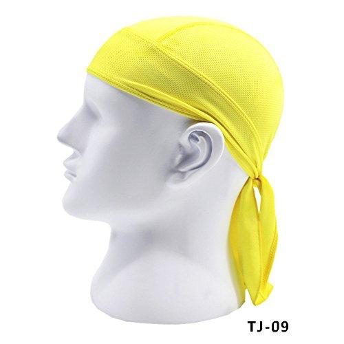 Zantec fazzoletto da testa,copricapi da moto,bandana per adulti, bandana, berretto da ciclismo da corsa, per moto e bici, asciugatura sole con protezione uv