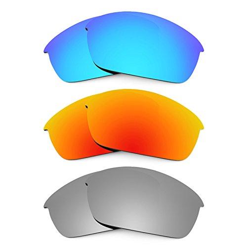 Revant Ersatzlinsen für Oakley Flak Jacket Polarisiert 3 Paar Kombipack K014