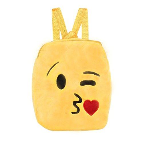 Imagen de bolso kukul linda emoji emoticon bolso de la escuela    bolso de la  h