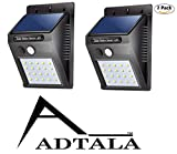 ADTALA 20 LED Bright Outdoor ABS Security Light with Motion Sensor Wireless Waterproof