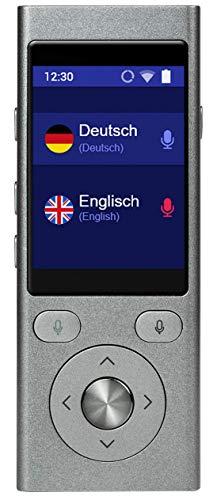 Vasco Translator Mini: Übersetzungsgerät für 50 Sprachen mit Spracheingabe und Sprachausgabe