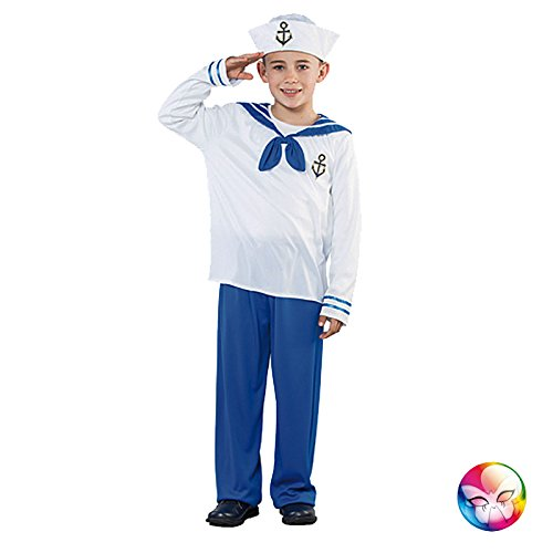 Unbekannt Aptafêtes Boy Sailor Erwachsenen-Kostüm–Größe -