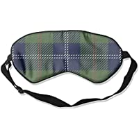 Green Plaid 99% Eyeshade Blinders Sleeping Eye Patch Eye Mask Blindfold For Travel Insomnia Meditation preisvergleich bei billige-tabletten.eu