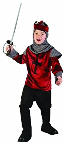 Kinder Kostüm British Knight Alter: 4-12 Jahre (message) - Kinder Royal Fancy Dress Kostüm