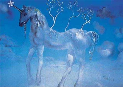 Editions Ricordi 5801N30002 - Dalì, L'unicorno Allegro, Puzzle da 1000 Pezzi