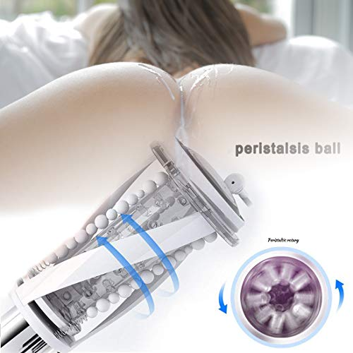 Preisvergleich Produktbild Automatische Masturbatoren Sex Men Cup Oral Sexspielzeug Masturbieren Realistische Masturbatoren Männer Oral Sexspielzeug