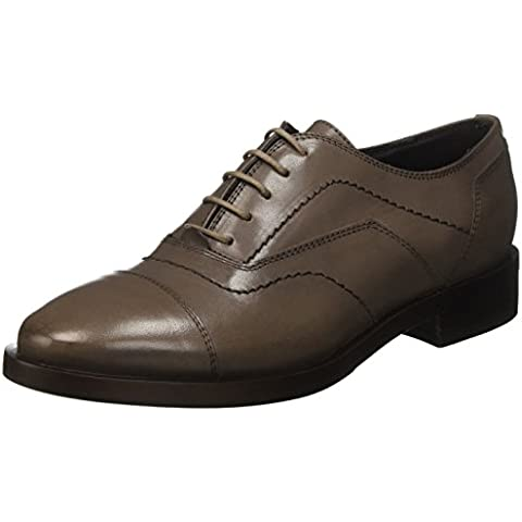 Geox Donna Brogue G, Zapatos de Vestir para Mujer